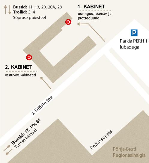 efcf26a8d14 Kuidas tulla • Mustamäe Silmakeskus